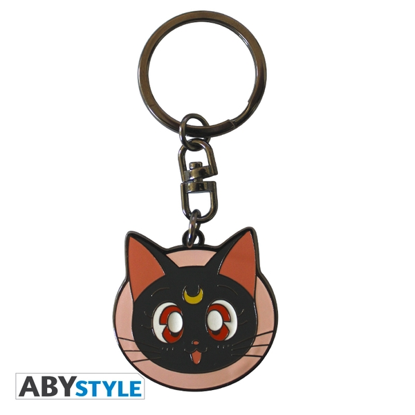 Sailor Moon - Luna Metal Keyring