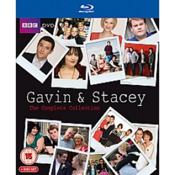 Gavin & Stacey Series 1-3 & 2008 Christmas Special Blu-ray