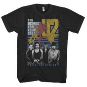 U2 - Bullet The Blue Sky Men's X-Large T-Shirt - Black