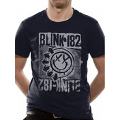 Blink 182 Eu Deck T-Shirt XX-Large - Black