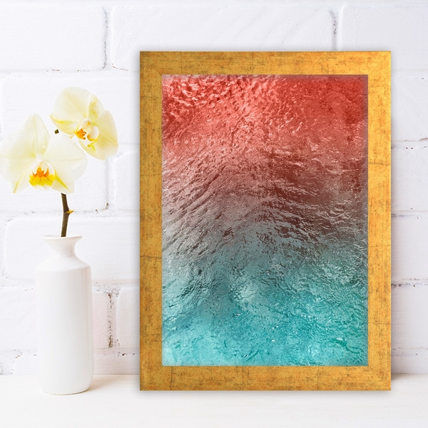 AC1251303769 Multicolor Decorative Framed MDF Painting