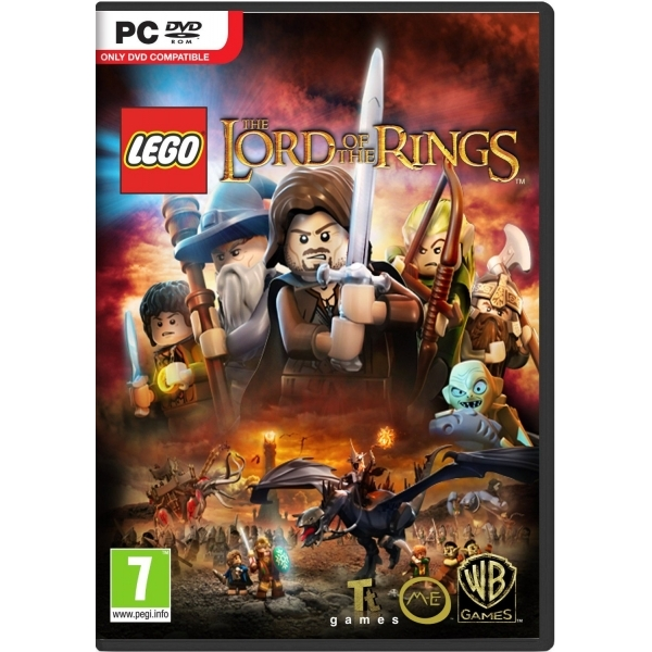 Lego Lord Of The Rings Game