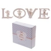 Cute Cherub LOVE Letters Ornament