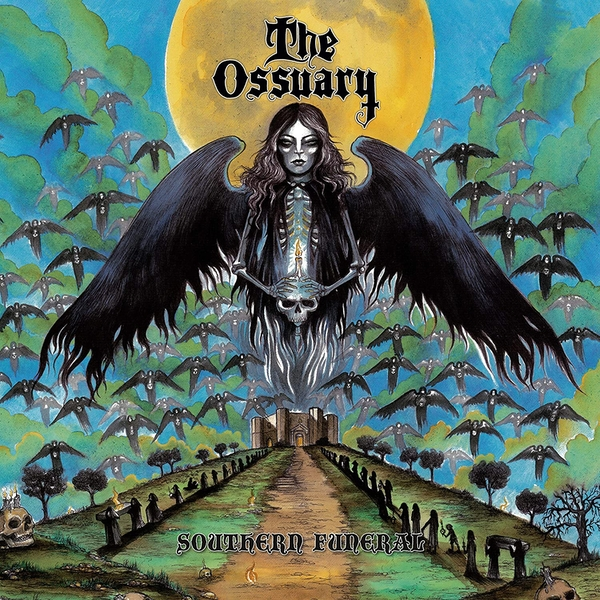 The Ossuary - Southern Funeral Blue Vinyl
