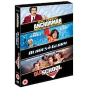 Blades of Glory / Old School / Anchorman DVD