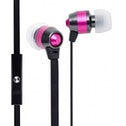 Groov-e Smart Buds Metal Earphones with Remote Mic Pink