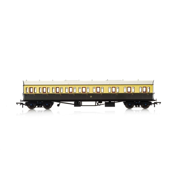 Hornby GWR Collett 57' Bow Ended 6627 E131 Nine Compartment Composite (Right Hand) Era 3 Model Train