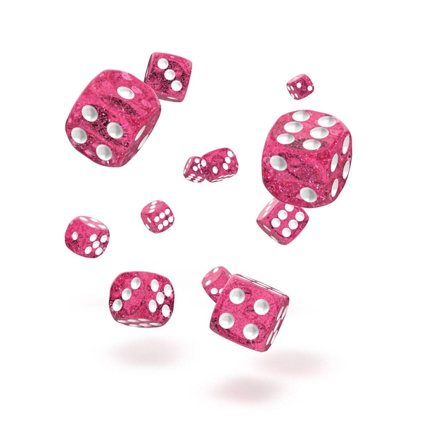 Oakie Doakie Dice D6 (Speckled Pink)