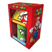 Super Mario - Yoshi Mug, Coaster and Keychain Set