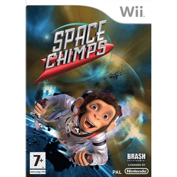 Space Chimps Game Wii