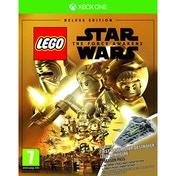 Lego Star Wars The Force Awakens Deluxe Edition Xbox One Game (Star Destroyer Mini Figure)
