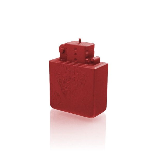Red Lighter Candle