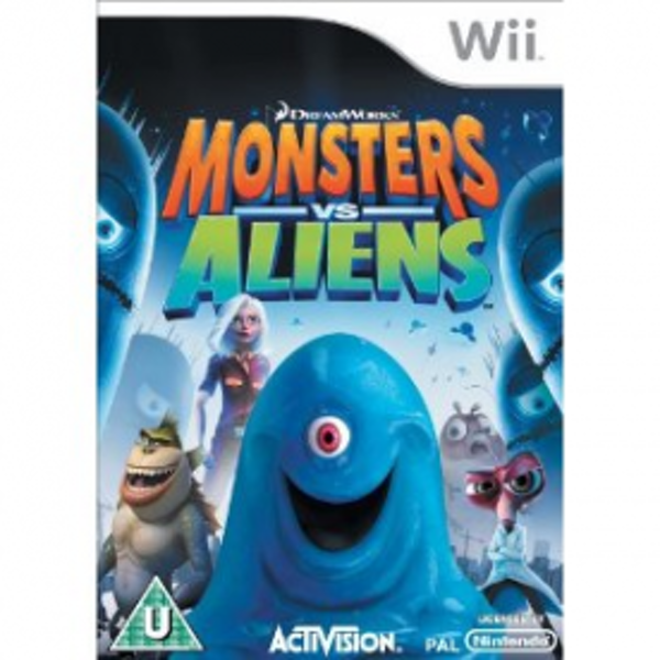 Monsters vs Aliens Game Wii