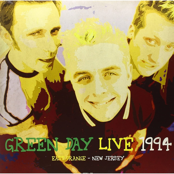 Green Day - Live At East Orange New Jersey 1994 Limited Edition Green Vinyl