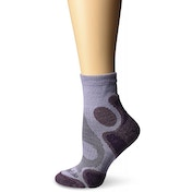 Bridgedale Coolfusion Trail Diva Women's Sock Heather and Damson Small