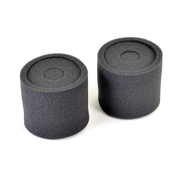 Fastrax 1/8Th Air Filter Re-Buildable - Dbl Sponge (2)