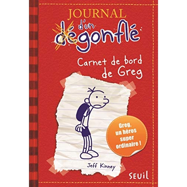 Carnet de Bord de Greg Heffley by Jeff Kinney (Paperback / softback, 2009)