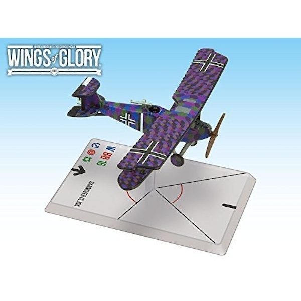 Wings Of Glory Hannover CL.IIIA (Baur/Von Hengl) Board Game