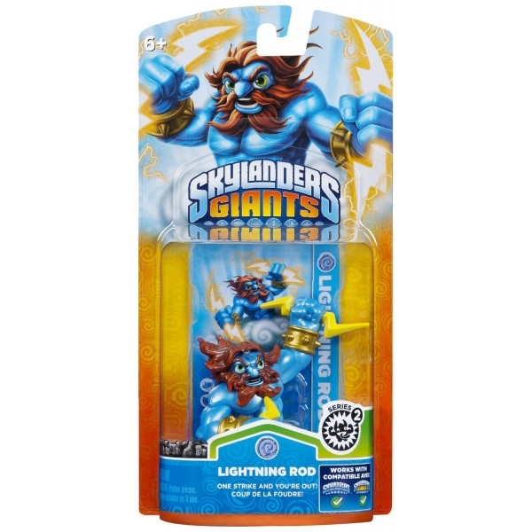 Series 2 Lightning Rod (Skylanders Giants) Air Character Figure