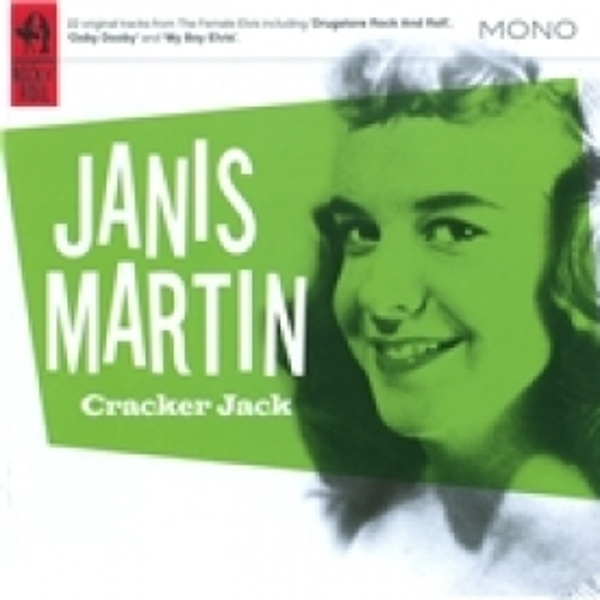 Janis Martin Cracker Jack CD