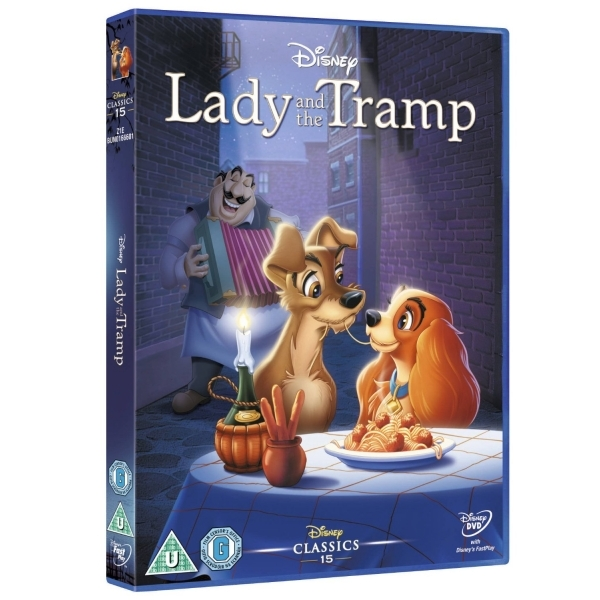 Disney Doppelgangers Pirates Edition: Disney Lady And The Tramp (Limited Edition Artwork & O