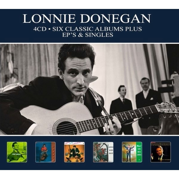 Lonnie Donegan - Six Classic Albums Plus EP's And Singles CD