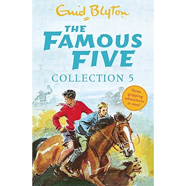 The Famous Five Collection 5: Books 13-15 by Enid Blyton (Paperback, 2017)