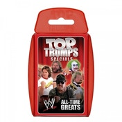 Top Trumps WWE All Time Legends Card Game