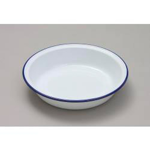Falcon Pie Dish Round - Traditional White 22cm x 4.5D
