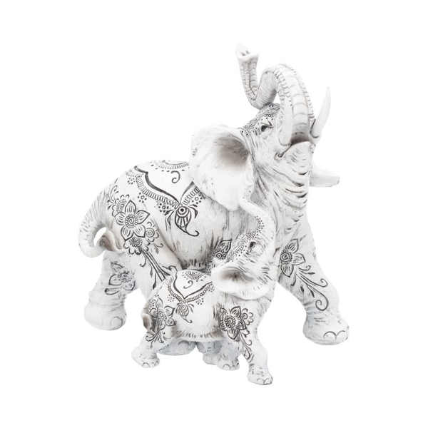 Henna Happiness Elephant Figurine