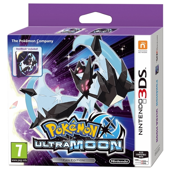 Pokemon Ultra Moon Steelbook Fan Edition 3DS Game