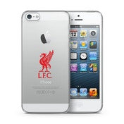 Official Liverpool F.C. Merchandise TPU Clear iPhone 5 Cover