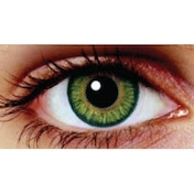 Lime Green 3 Month Coloured Contact Lenses (MesmerEyez Blendz)