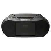 Sony CFD-S70 CD/Cassette Boombox with Radio Black UK Plug