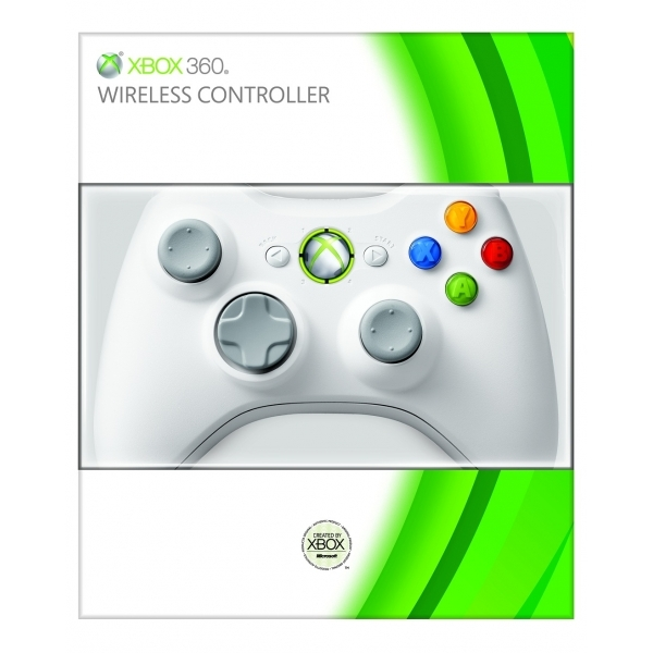 Official Wireless Gamepad Controller Special Edition WHITE Xbox 360