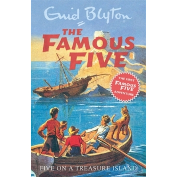 Five on a Treasure Island: Book 1 by Enid Blyton (Paperback, 1997)