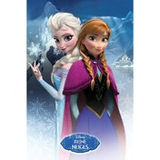 Frozen Anna And Elsa (french Version) Maxi Poster