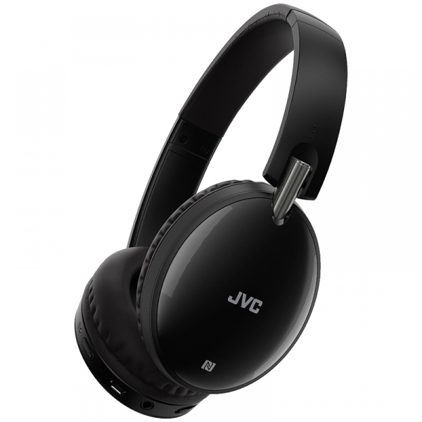 JVC HAS70BTBE Premium Sound Bluetooth Around Ear Headphones Black