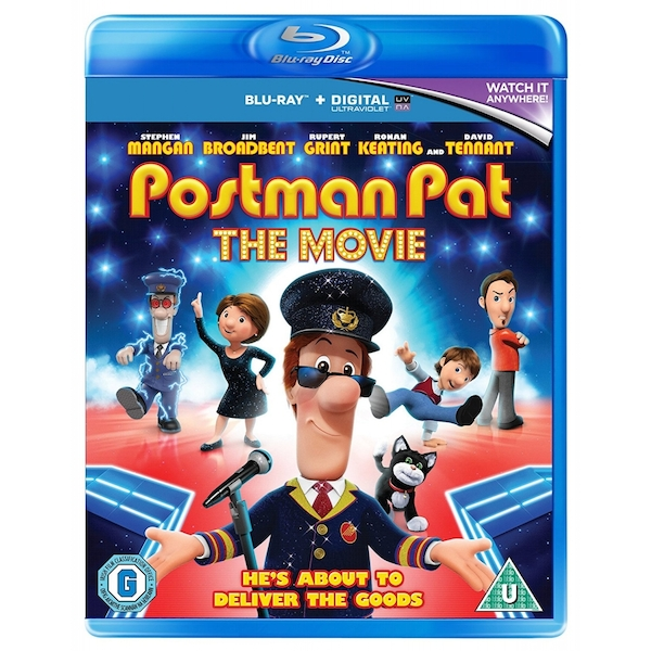 Postman Pat The Movie Blu-ray