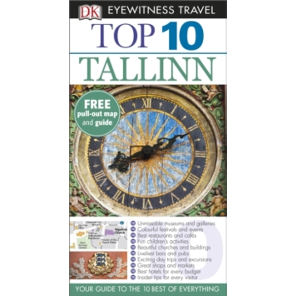 DK Eyewitness Top 10 Travel Guide: Tallinn by DK Publishing (Paperback, 2015)