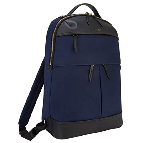 Targus Newport Travel and Commuter Trendy and Modern Design fit 15-Inch Laptop Backpack, Navy (TSB94501GL)