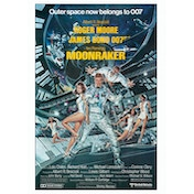 James Bond - Moonraker Postcard