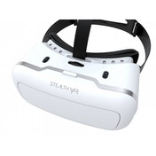 Stealth VR200 Virtual Reality Headset White with Silver Trim (iOS & Android)
