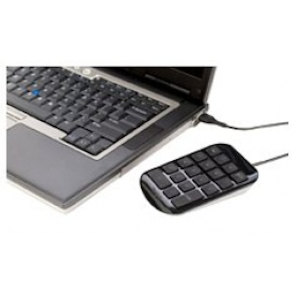 Targus USB Number Pad - Black/Grey
