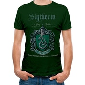 Harry Potter - Slytherin Quidditch Unisex Large T-shirt - Green