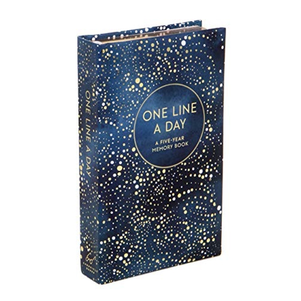 Celestial One Line a Day  Notebook / blank book 2017