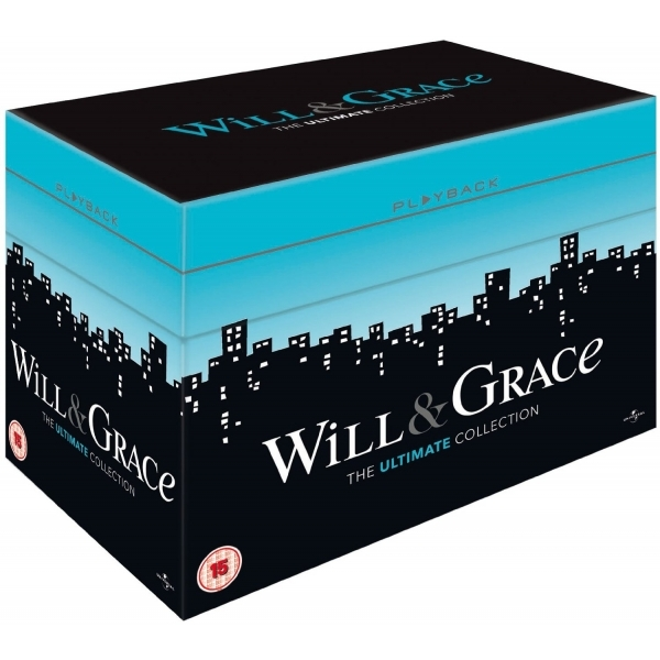 Will And Grace: Series 1-8 Complete Box Set DVD
