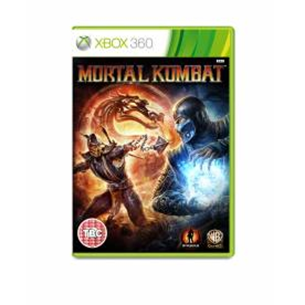 Mortal Kombat Game Xbox 360