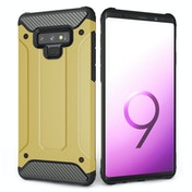 CASEFLEX SAMSUNG GALAXY NOTE 9 ARMOURED SHOCKPROOF CARBON CASE - GOLD