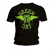 Green Day Neon Men's Large T-Shirt - Black
